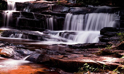 Photograph - Lake Waterfall by Ant Pruitt