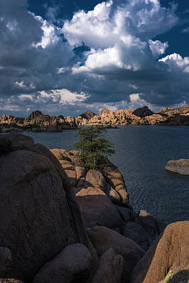 Photograph - Lake Watson Prescott Arizona 2498 by David Haskett