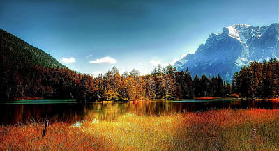 Photograph - Lake Weissensee Beauty by Kordi Vahle