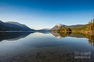 Fed Photograph - Lake Wenatchee In Washington State. by Jamie Pham