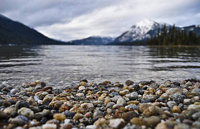 Lake Wenatchee Rocks Art Print