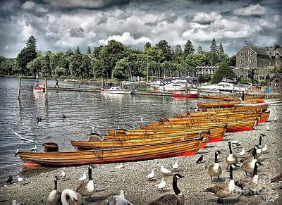 Photograph - Lake Windamere by Walt Foegelle
