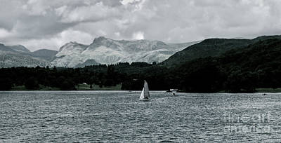 Photograph - Lake Windermere One by Lance Sheridan-Peel