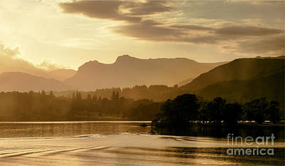 Photograph - Lake Windermere Two by Lance Sheridan-Peel