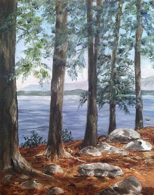 Painting - Lake Winnepesaukee by Margie Perry