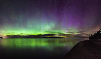 Photograph - Lake Winnipesaukee Aurora by Robert Clifford
