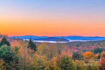 Lake Winnipesaukee Sunset View Art Print