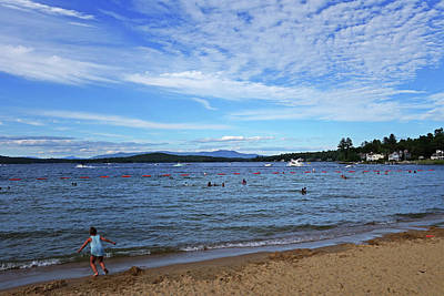 Photograph - Lake Winnipesaukee Weirs Beach Nh by Toby McGuire