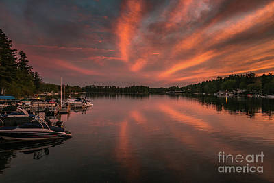 Photograph - Lake Winnisquam At Mosquito Bridge by Mim White