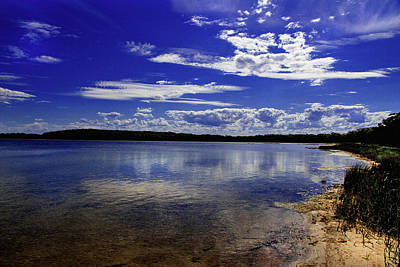 Photograph - Lake Wollumboola Memories  by Miroslava Jurcik