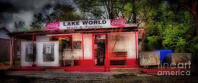 Lake Murray Photograph - Lake World by Skip Willits