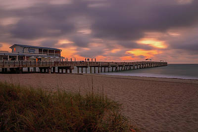 Photograph - Lake Worth Pier by Juergen Roth