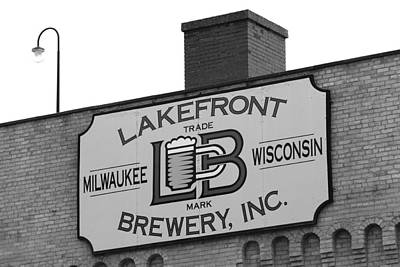 Lakefront Brewery Art Print