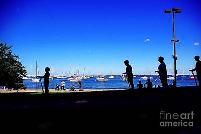 Frank J Casella Royalty-Free and Rights-Managed Images - Lakefront Vibe City of Chicago by Frank J Casella