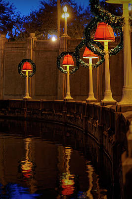 Photograph - Lakeland Christmas by Steve Gravano