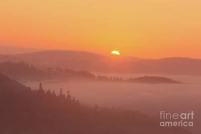 Ambleside Wall Art - Photograph - Lakeland Sunrise by Tony Higginson