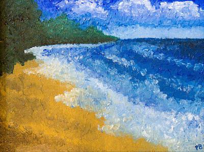 Huron Painting - Lakeport Beach by Paul Bartoszek