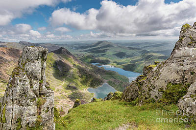 Photograph - Lakes Of Snowdonia by Adrian Evans