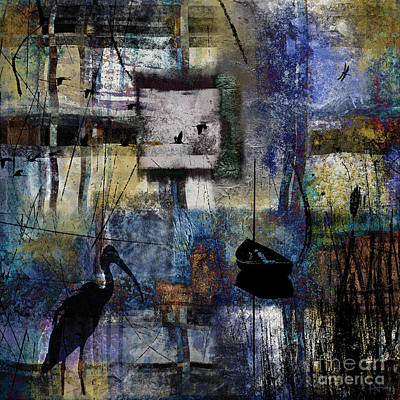 Digital Art - Lakeshore At Dawn by Nola Lee Kelsey