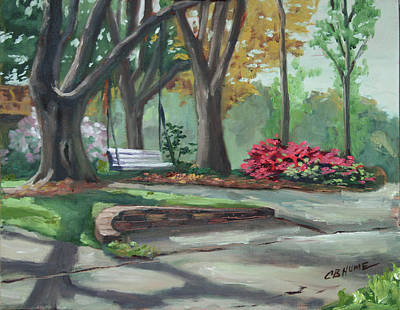 Painting - Lakeshore Dr Baton Rouge by CB Hume