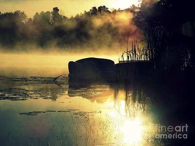 Photograph - Lakeshore by France Laliberte