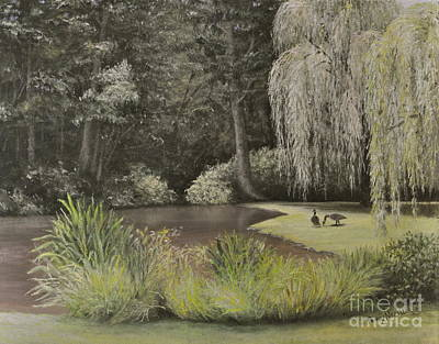 Lakeside At Mountain Playhouse Original by Penny Neimiller