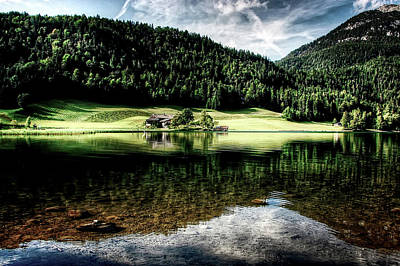 Photograph - Lakeside Austria by Kordi Vahle
