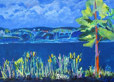 Painting - Lakeside by Betty Pieper