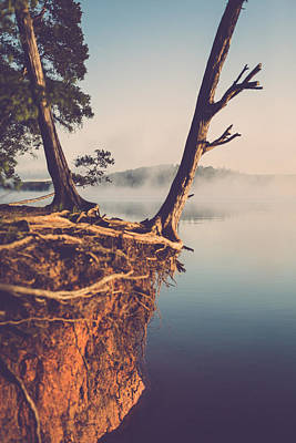 Photograph - Lakeside Cliff by Jessica Brown