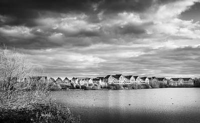Photograph - Lakeside Houses by Gary Gillette
