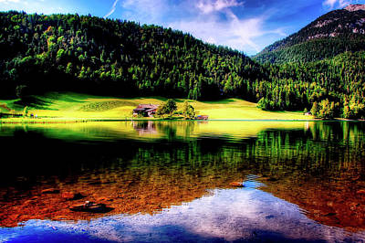 Photograph - Lakeside In Austria by Kordi Vahle