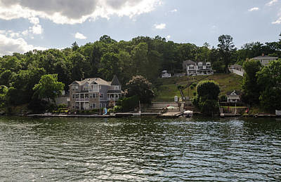 Photograph - Lakeside Living Hopatcong by Maureen E Ritter