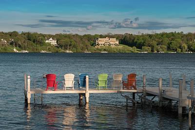 Geneva Photograph - Lakeside Living Number 3 by Steve Gadomski