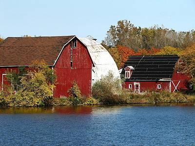 Photograph - Lakeside Michigan Farm by Scott Hovind