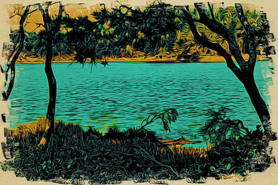Photograph - Lakeside No.1 by Bonnie Bruno