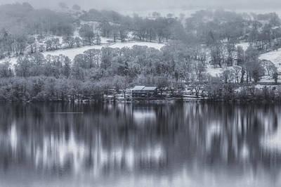 Lakeside Reflections Art Print by Chris Fletcher