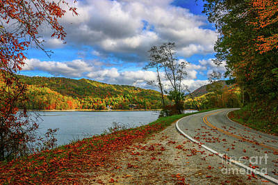Photograph - Lakeside Road by Tom Claud
