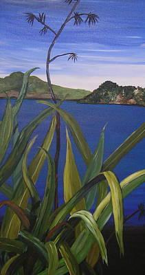 Lakeside Art Print by Sher Green