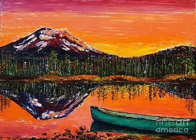 Painting - Lakeside Sunrise by Eryn Tehan