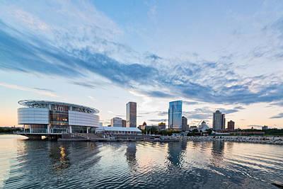 Photograph - Lakeside View by CJ Schmit