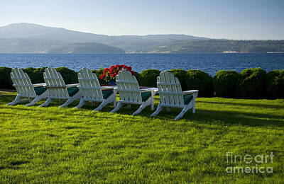 Photograph - Lakeside View by Idaho Scenic Images Linda Lantzy