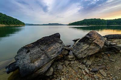 Photograph - Lakeside View by Michael Scott