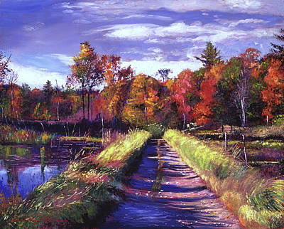 Painting - Lakeside Walk by David Lloyd Glover
