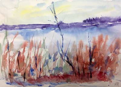 Painting - Lakeside Wash No.17 by Desmond Raymond