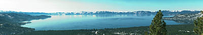 Photograph - Laketahoe Panorama by L J Oakes