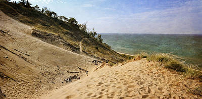 Photograph - Laketown Dune Panorama by Michelle Calkins