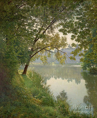 Lakeview Painting - Lakeview by Henri Biva