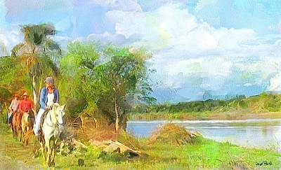 Painting - Lakeview by Wayne Pascall