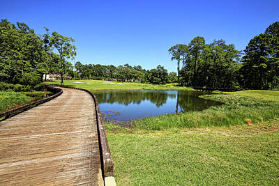 Photograph - Lakewood Golf Club Point Clear Alabama 2 by Judy Vincent