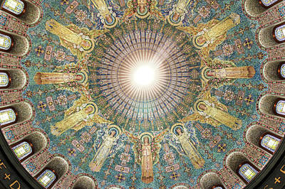 Lakewood Memorial Chapel Dome Art Print by Art Spectrum